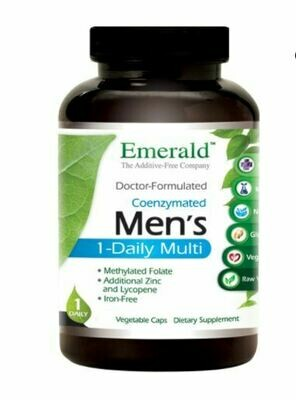 Emerald Labs Mens One Daily Multi 60cap