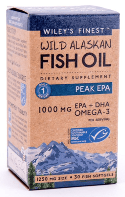 Wileys Finest Fish Oil Peak Epa 30sgel