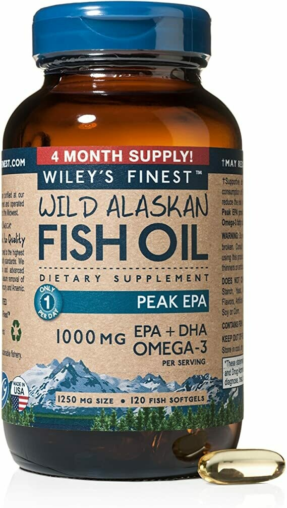 Wileys Fish Oil 1000mg 120