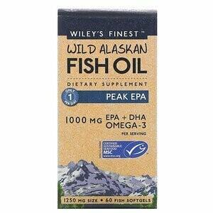 Wileys Fish Oil Peak Epa 1000mg 60sgel