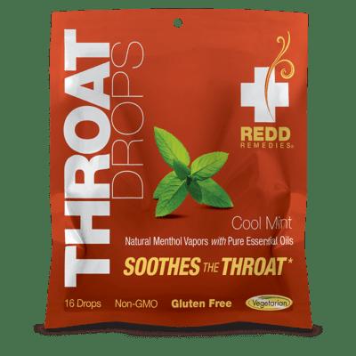 Redd Remedies Throat Drops Cool Mint (16 Drops)