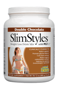 Natural Factors SlimStyles Weight Loss PGx Chocolate 1lb