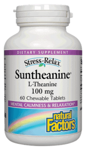 Natural Factors S-R Suntheanine Chew Tab 60