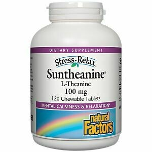 Natural Factors S-R Suntheanine Chew Tab 120