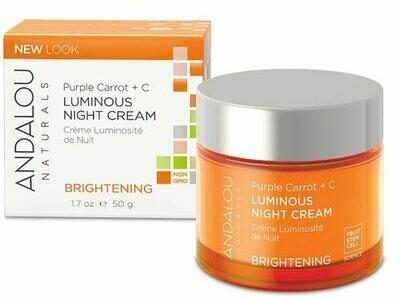 Andalou Brightening Luminous Night Cream 1.7oz