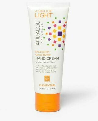 Andalou Hand Cream Clementine 3.4oz