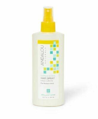 Andalou Sunflower Citrus Med Hold Hairspray 8.2oz