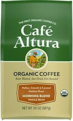 Cafe Altura Breakfast Blend Whole Bean