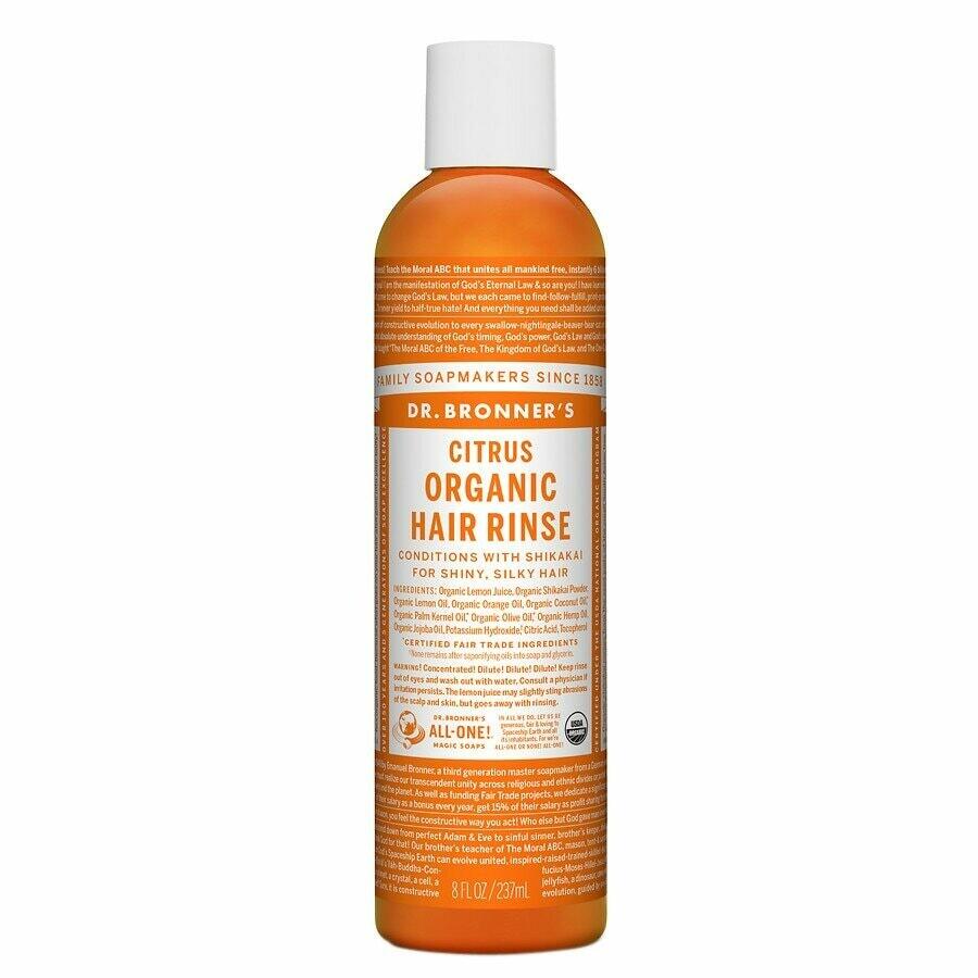 Dr. Bronners Citrus Organic Hair Rinse