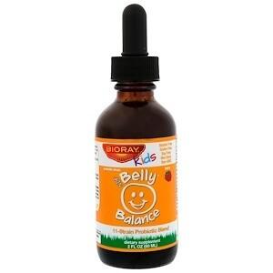 BioRay Kids Belly Balance Berry 2oz