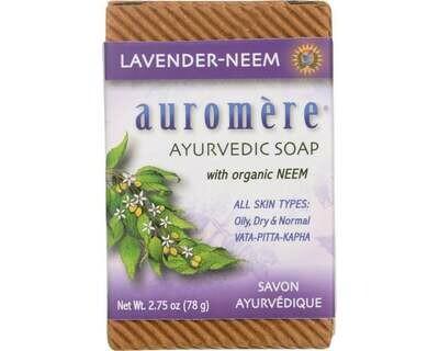 Auromere Lavender Neem Soap