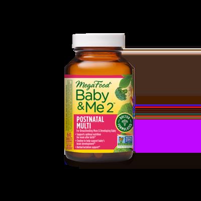 Megafood Baby & Me 2 Postnatal Multi 60 Tab