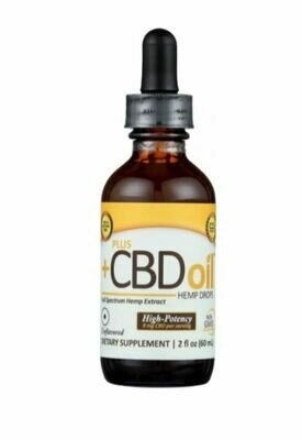 CV Sciences CBD Plus Gold High Potency 9mg Unflavored 2oz