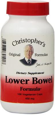 Dr. Christopher's- Lower Bowel 100cap