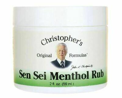Dr. Christopher's Sen Sei Balm 2oz