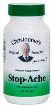 Dr. Christopher's Stop Ache 100cap