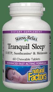 Natural Factors Tranquil Sleep 120tab