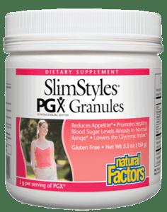 Natural Factors Slimstyles Pgx Granules