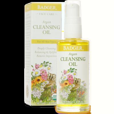 Badger Argan Cleansing Oil 2oz
