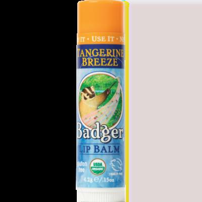 Badger Lip Balm Tangerine Breeze