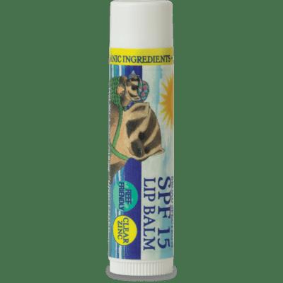 Badger Sunscreen Lip Balm 15spf