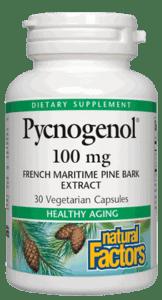 Natural Factors Pycnogenol 100mg 30 Caps