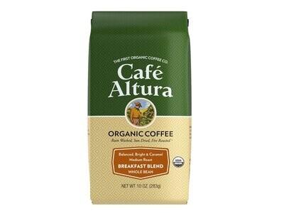 Cafe Altura Whole Bean Morning Light Blend 20oz