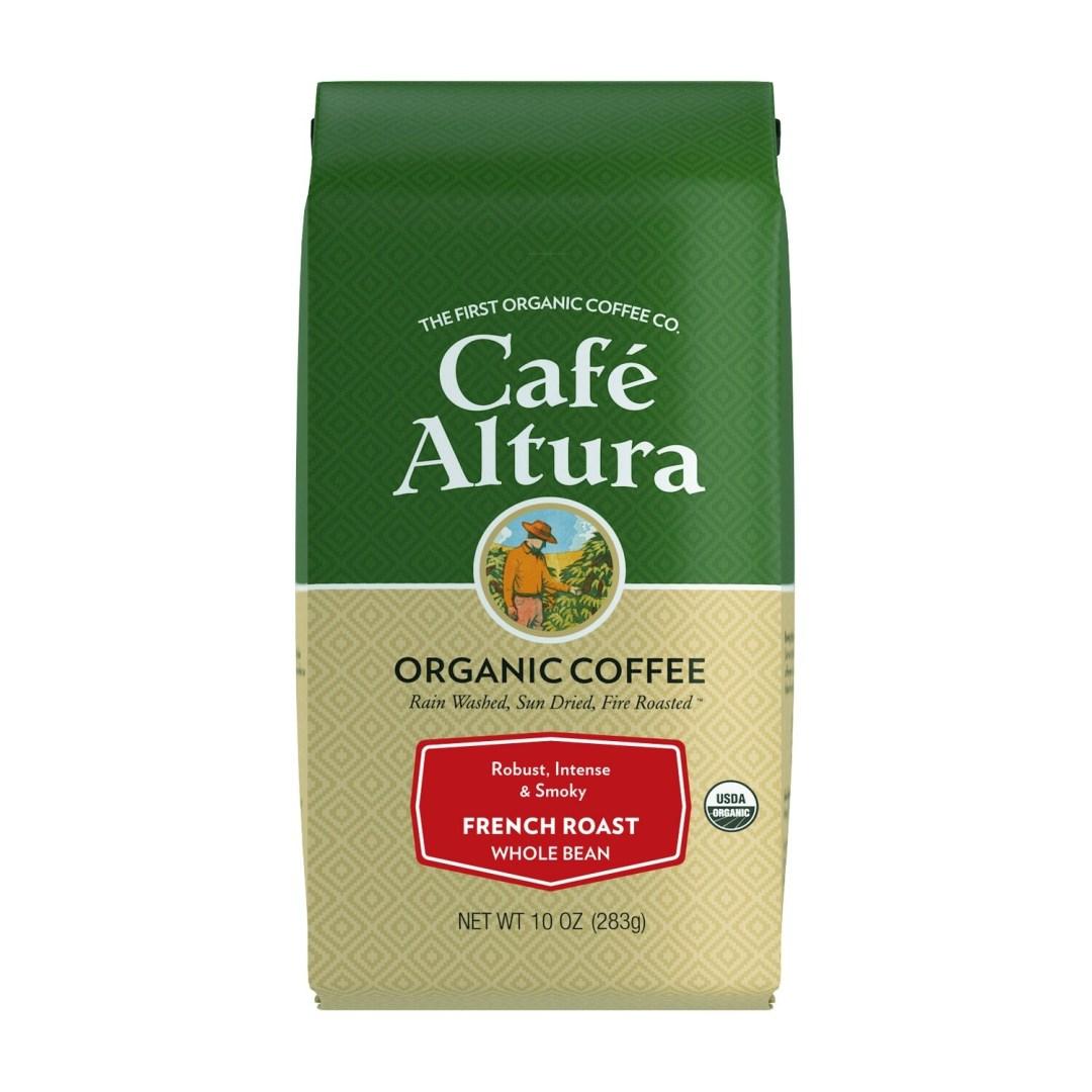 Cafe Altura Whole Bean French Roast 10oz