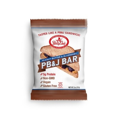 Betty Lou's Peanut Butter And Blueberry PB&J Bar
