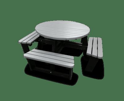 Round picnic table 1820mm diameter