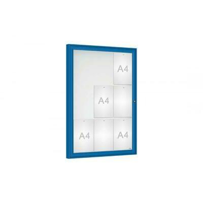 Budget Plus Single Door Classic 9 x A4 Sheets