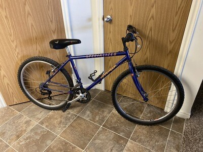 "17"" Specialized, Mountain Bike, Good Condition, Purple"