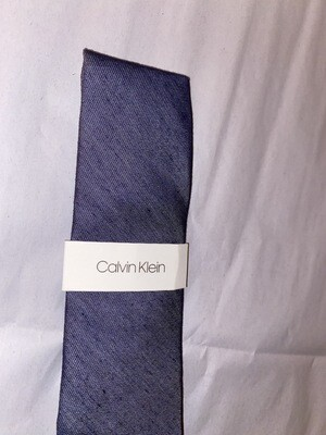 Mens Calvin Klein Neck Tie Grey A#407 MSRP $69.50 Free Shipping NWT