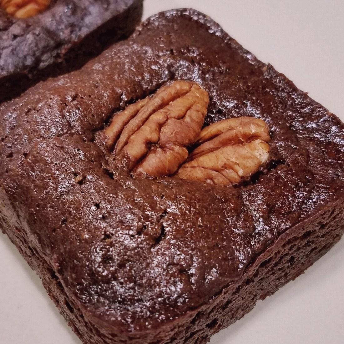 Brownies de avena.