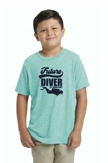 Youth T shirt Future Diver