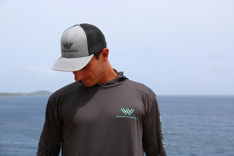 WW Logo Hat Grey w/ Black