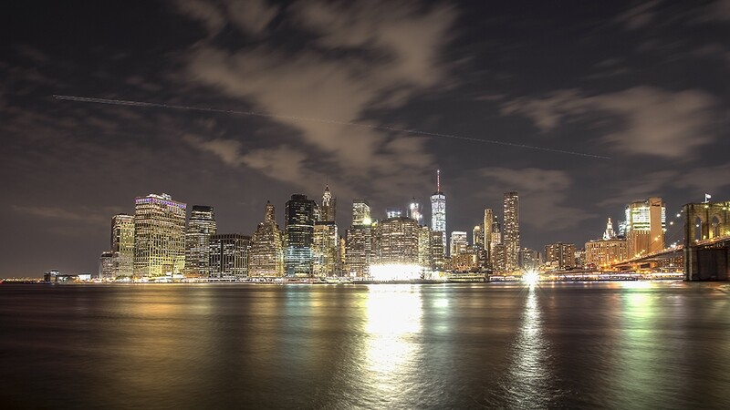 Manhattan Skyline, New York. 1420