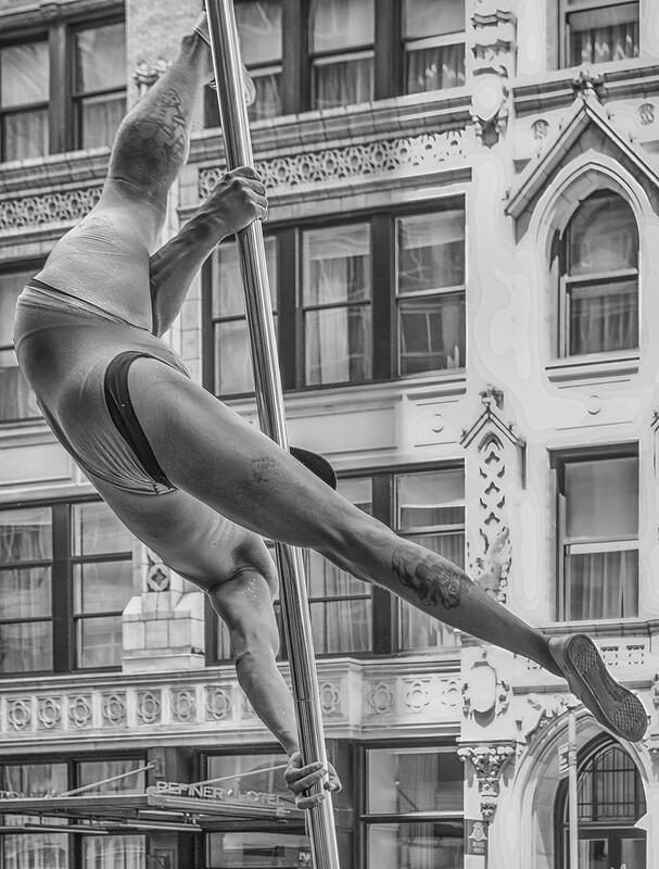 Gay Parade Pole Dancer, New York