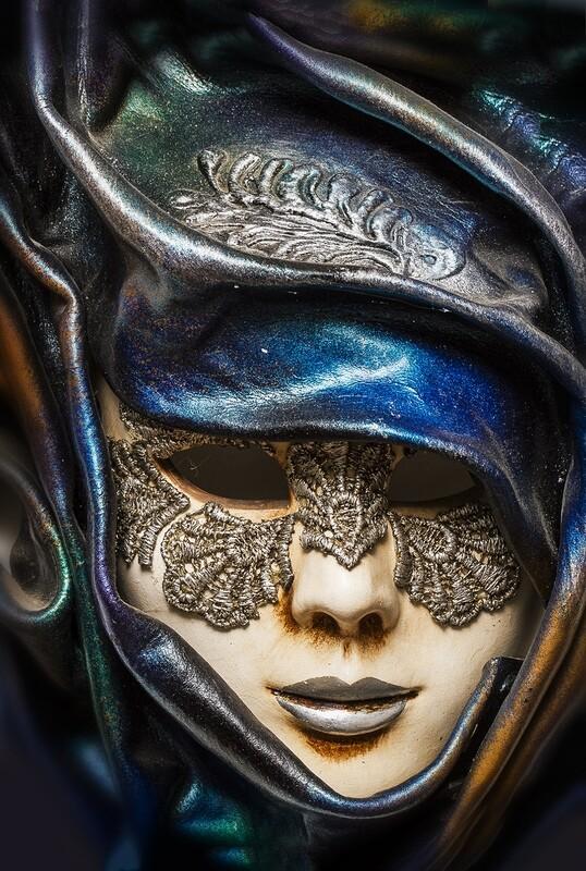 Leather mask 2900