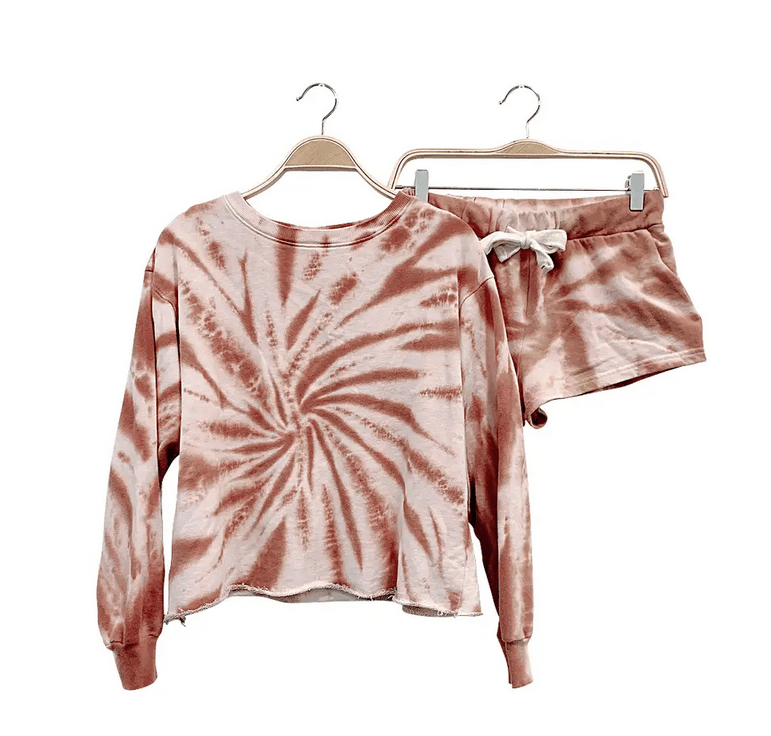 Camel Sweat Short Set