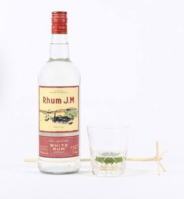 Rhum JM Blanc 110 proof - 1L