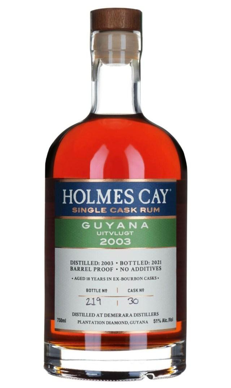 Holmes Cay - Guyana Uitvlugt 2003