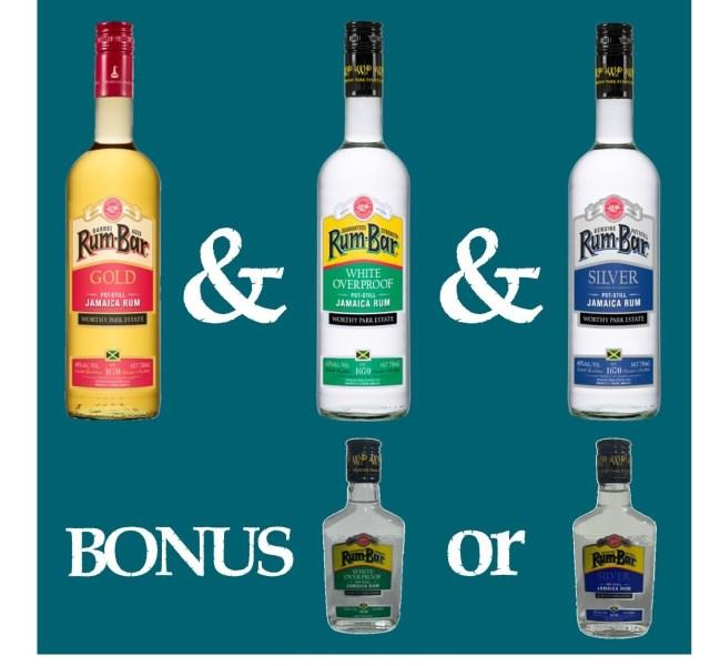 Rum Bar Trio & Bonus