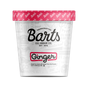 BART'S ICE CREAM - Ginger