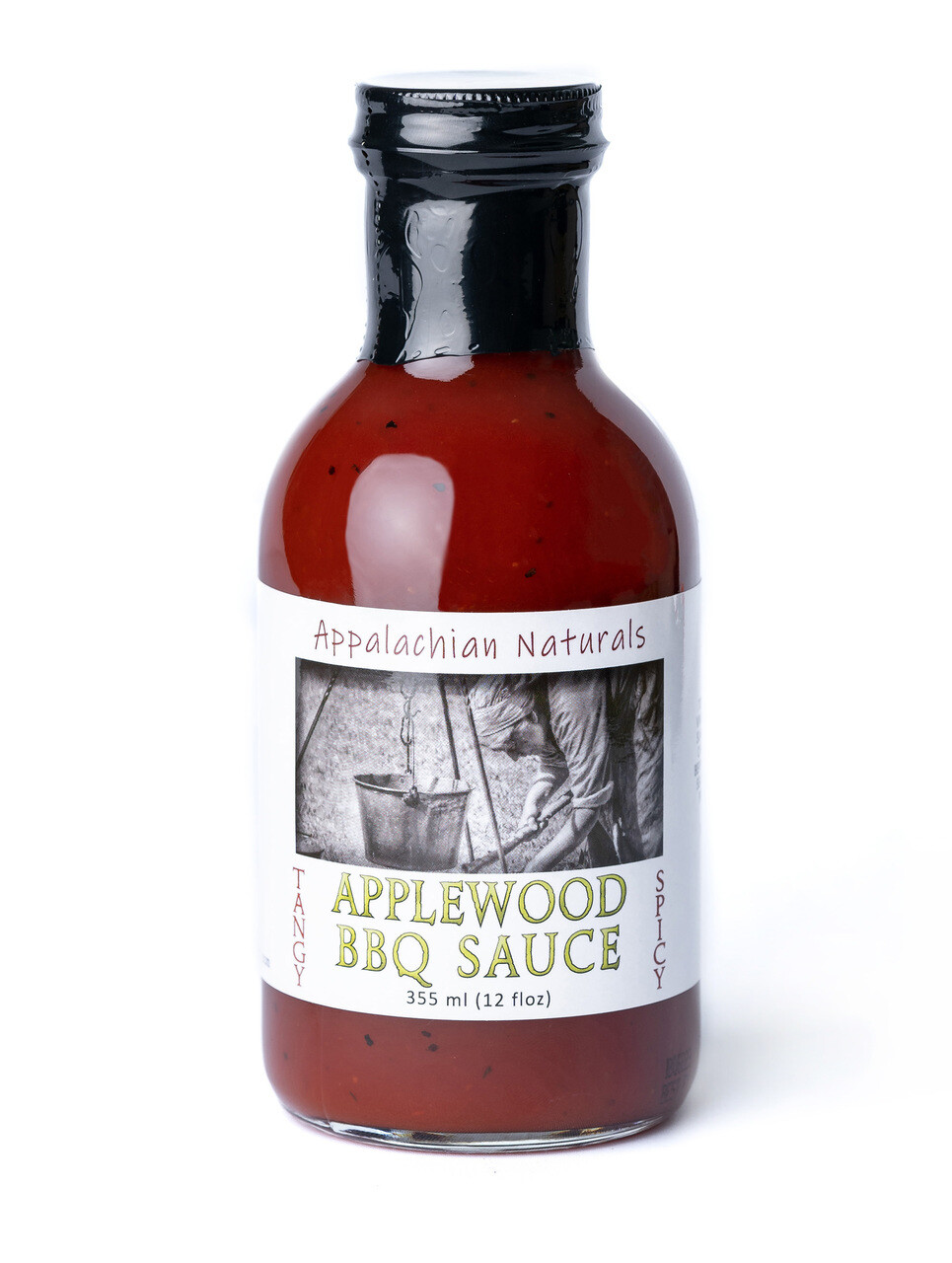 Appalachian Naturals Applewood Smoked Spicy BBQ Sauce