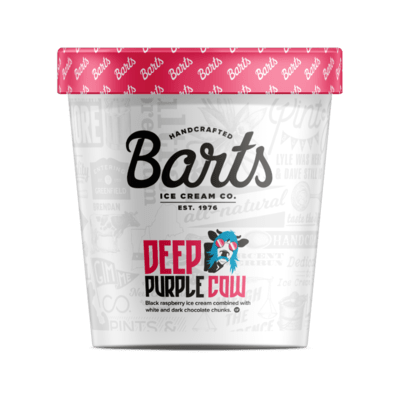 BART'S ICE CREAM - Deep Purple Cow