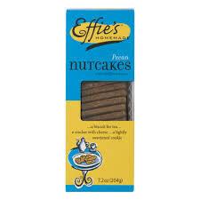 Effie's 7.2 oz box - Pecan Nutcakes