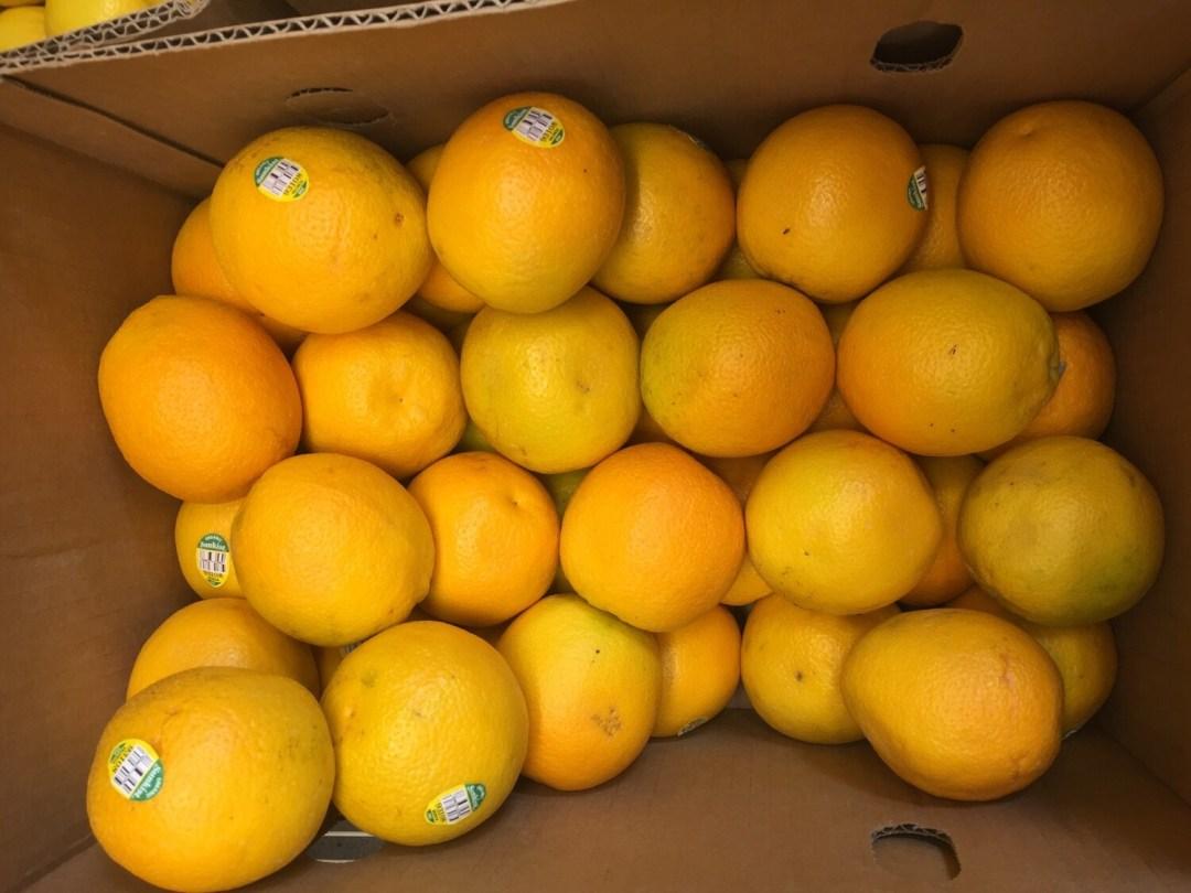 Organic Valencia Oranges (1 lb)