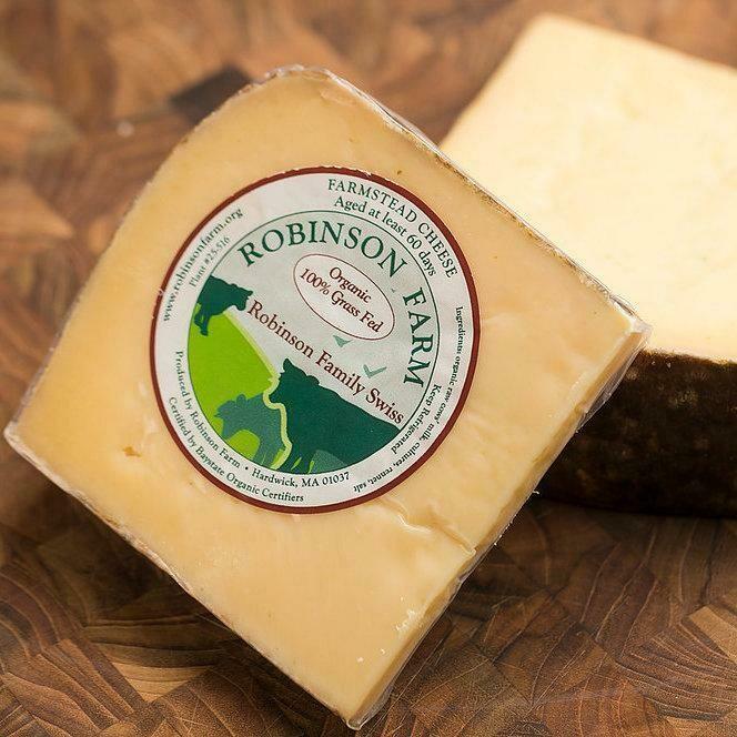 Robinson Farm ROBINSON FAMILY SWISS Cheese
