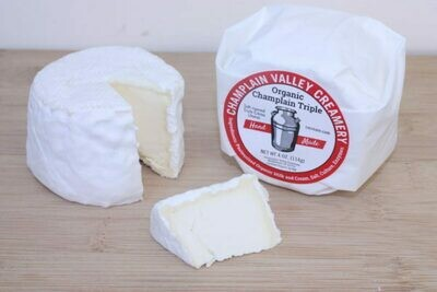 Champlain Valley Creamery Champlain Triple Creme Cheese 4 oz.